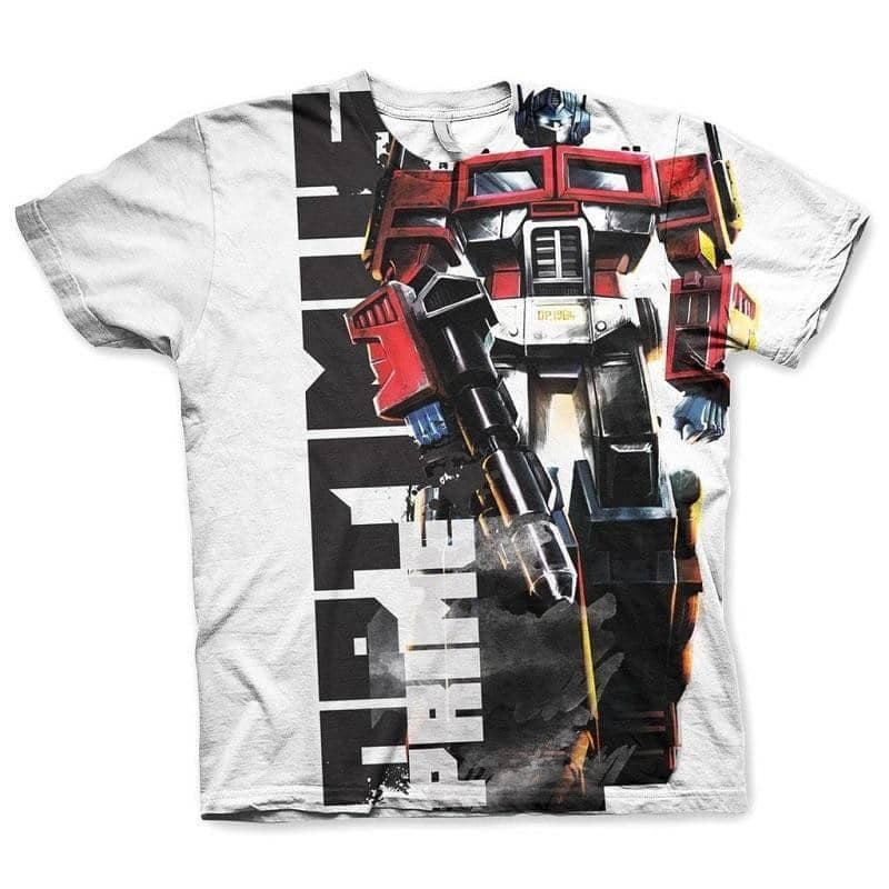 Men's Optimus Prime All Over Printed T-Shirt