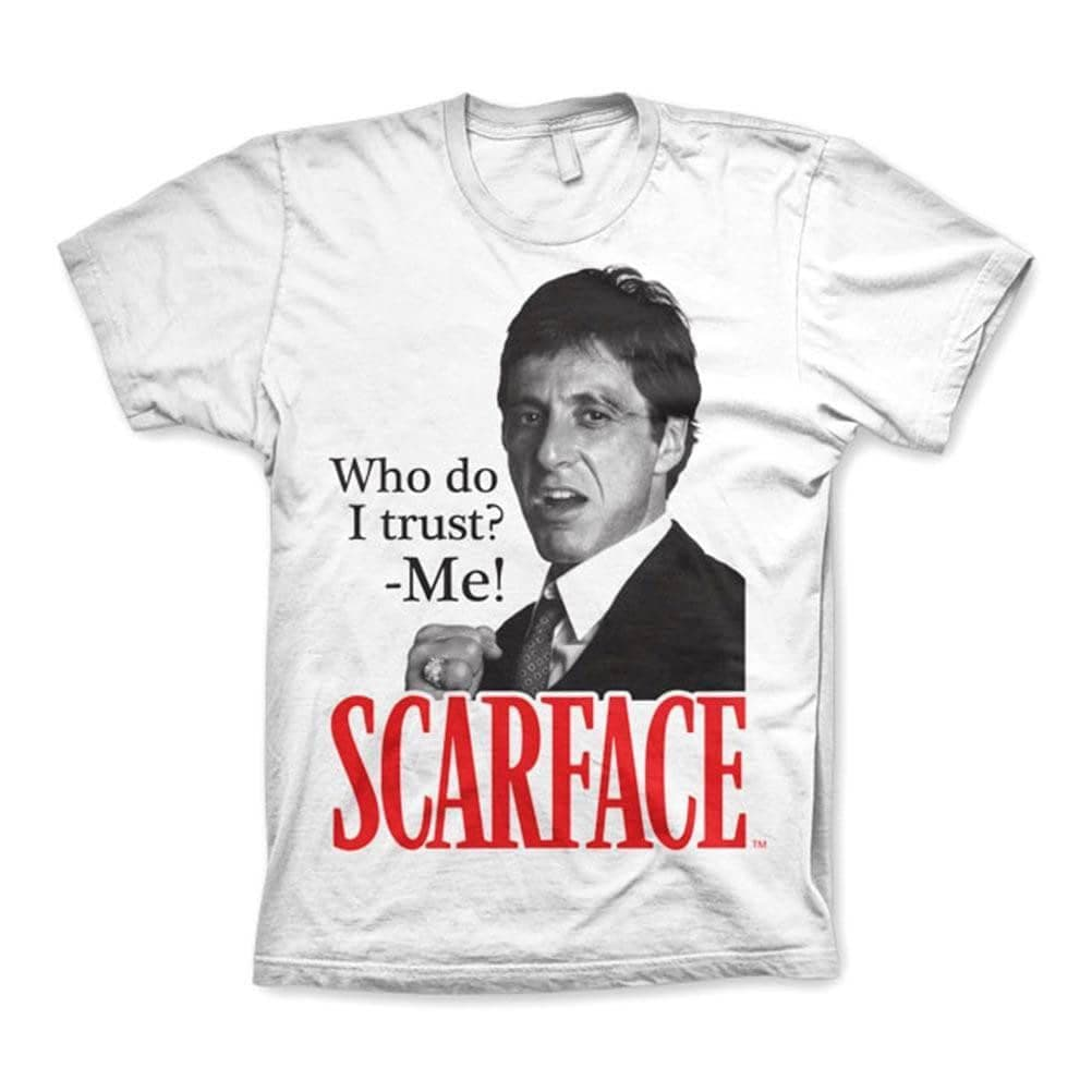 Men's Scarface Who Do I Trust T-Shirt