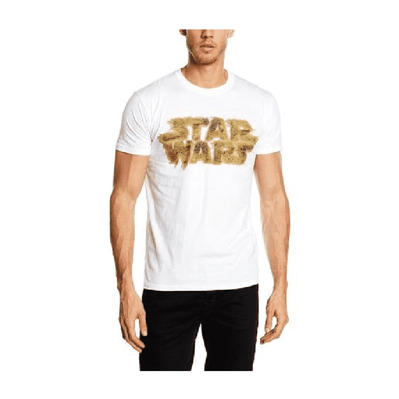Men's Star Wars Chewie Hair Logo T-Shirt