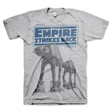Load image into Gallery viewer, Men's Star Wars Empire Strikes Back AT-AT Grey T-Shirt