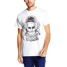 Load image into Gallery viewer, Men's Suicide Squad Joker Smile White T-Shirt