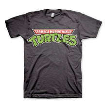 Load image into Gallery viewer, Men's Teenage Mutant Ninja Turtles Classic Logo Grey T-Shirt