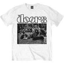 Load image into Gallery viewer, Men's The Doors Jim on Floor White T-Shirt