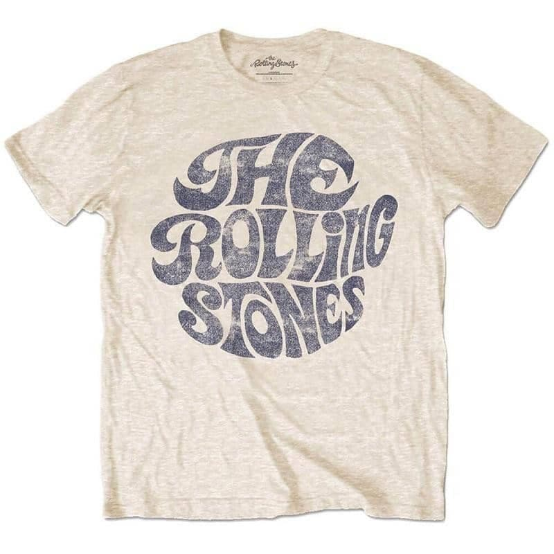 Men's The Rolling Stones Vintage 70's Logo T-Shirt