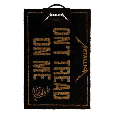 Metallica DoNt Tread On Me Doormat