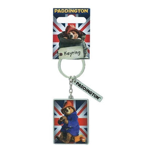 Paddington Bear Movie Union Jack Keyring