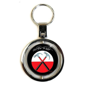 Pink Floyd The Wall Spinning Keyring