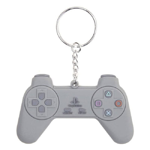 PlayStation Controller Rubber Keychain