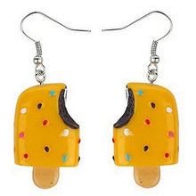 Load image into Gallery viewer, Retro Ice Lolly Drop Earrings