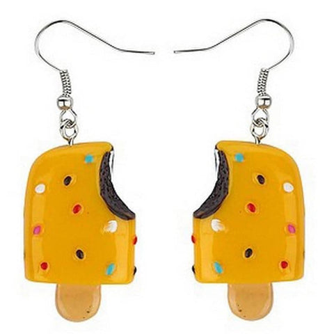 Retro Ice Lolly Drop Earrings