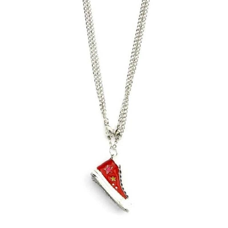 Retro Trainer Necklace