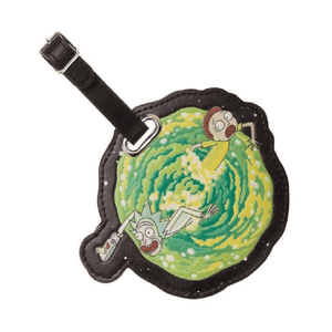 Rick and Morty Portal Luggage Tag