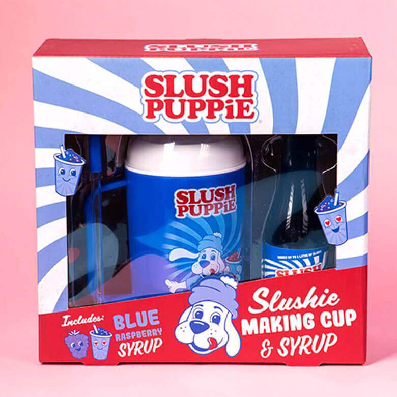 Slush Puppie Slushie Making Cup and Syrup Gift Set - Raspberry - Boxed