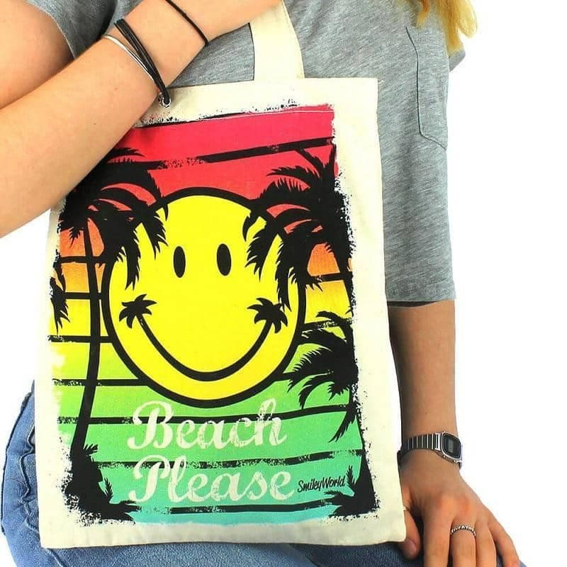 Smiley World Shopper Bag