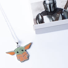 Load image into Gallery viewer, Star Wars The Mandalorian The Child Character Enamel Pendant