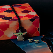 Load image into Gallery viewer, Star Wars The Mandalorian The Child Necklace and Earrings Set
