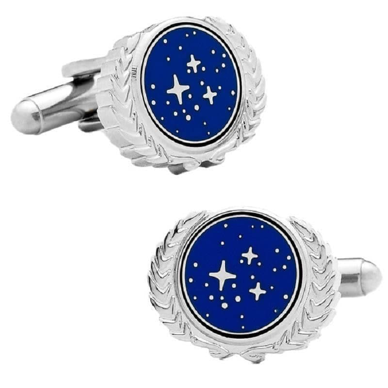 Star Trek United Federation of Planets Logo Boxed Cufflinks