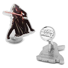 Load image into Gallery viewer, Star Wars Episode VII Kylo Ren Action Cufflinks