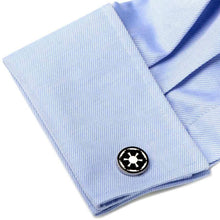 Load image into Gallery viewer, Star Wars Imperial Empire Symbol Cufflinks