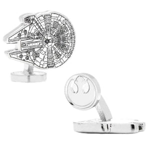 Star Wars Millennium Falcon Blueprint Cufflinks