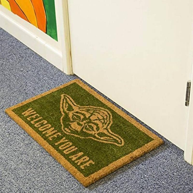 Star Wars Yoda Welcome You Are Doormat