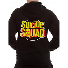 Load image into Gallery viewer, Suicide Squad Bomb Logo Zip Up Hoodie