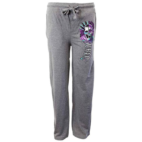 Suicide Squad Joker Grey Heather Lounge Pants - Available in Small - XX Large
