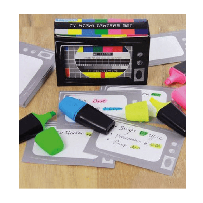 TV Highlighters Set