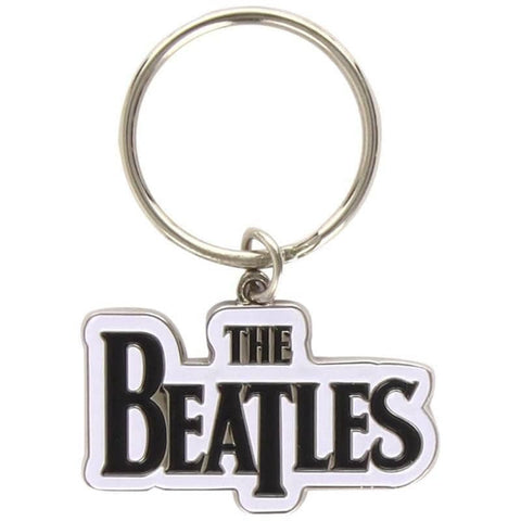 The Beatles Drop T Logo Metal Keyring