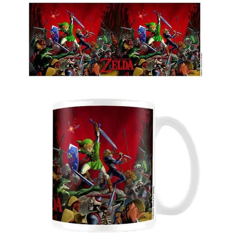 The Legend of Zelda Battle Heat Changing Mug