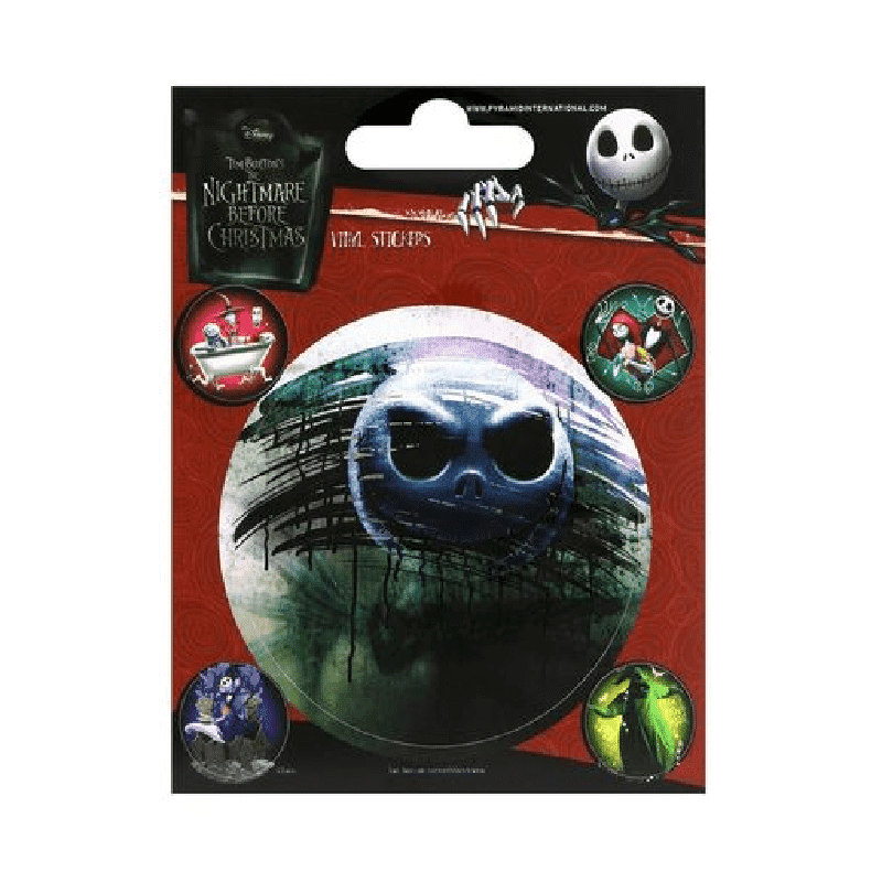 The Nightmare Before Christmas Vinyl Stickers