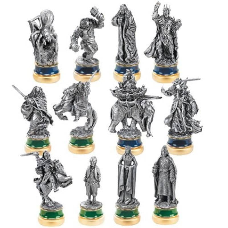The Return of the King 12 Pewter Chess Character Package