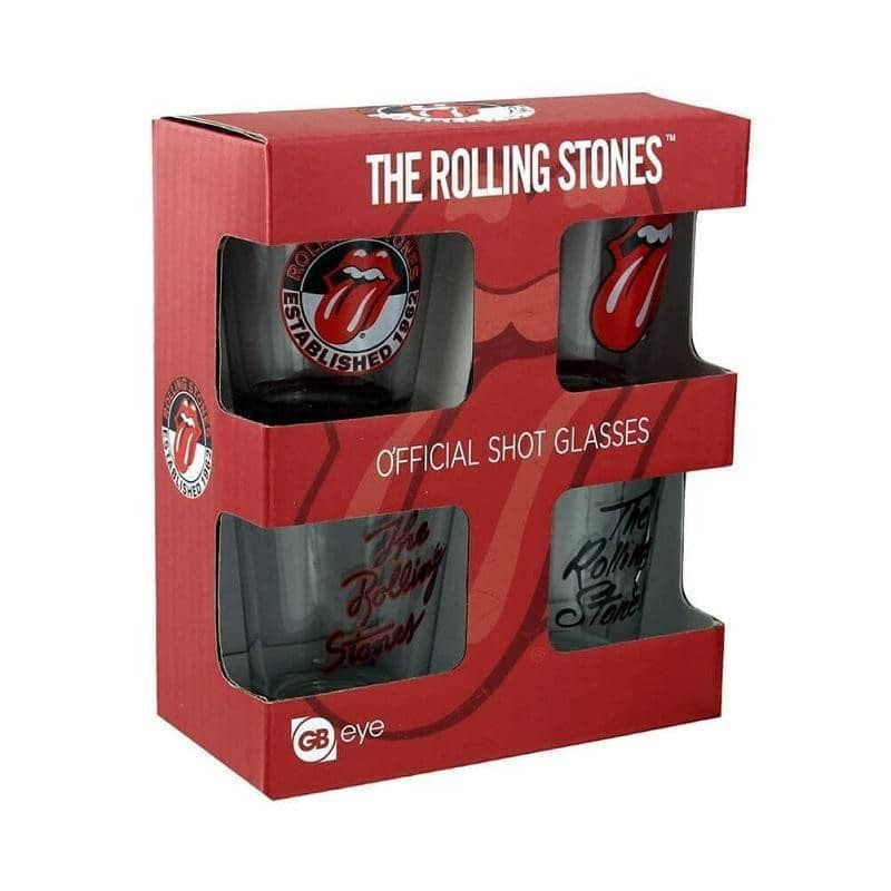The Rolling Stones Shot Glasses