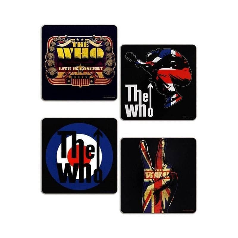 The Who 4 Piece Coaster Set