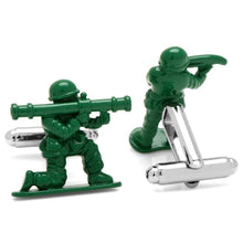 Load image into Gallery viewer, Toy Soldier Cufflinks