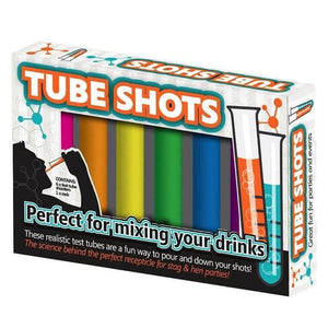 Tube Shots Drinking Glasses