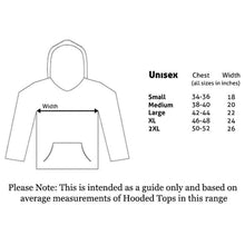 Load image into Gallery viewer, Unisex Friends Logo and Icons Black Pullover Hoodie