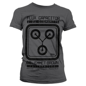 Women's Back to the Future Flux Capacitor T-Shirt