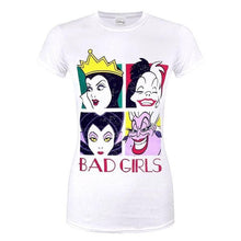 Load image into Gallery viewer, Women's Disney Bad Girls Fitted T-Shirt