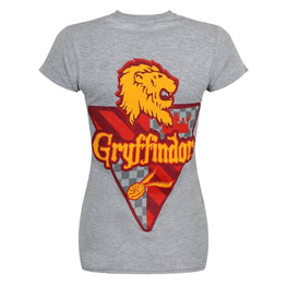 Women's Harry Potter Gryffindor Logo Fitted T-Shirt