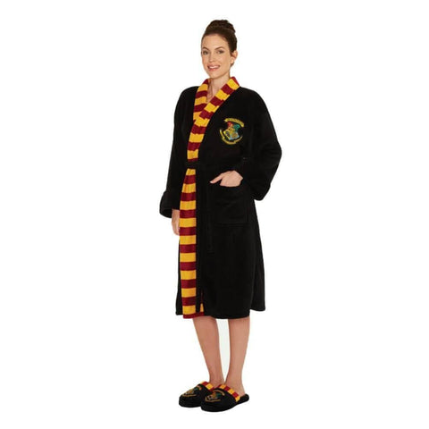 Women's Harry Potter Hogwarts Crest Adult Dressing Gown