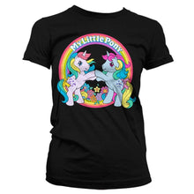 Load image into Gallery viewer, Women's My Little Pony Best Friends Black T-Shirt
