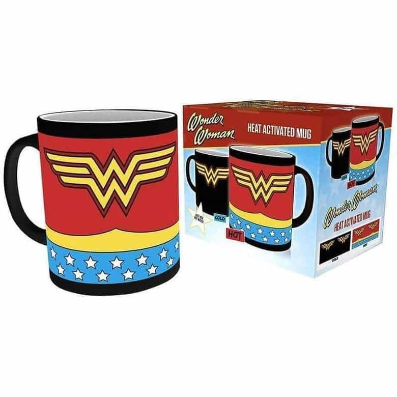 Wonder Woman Logo Heat Activated Mug