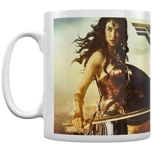 Wonder Woman Movie Action Coffee Mug.