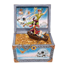 Load image into Gallery viewer, Disney Traditions Captain Hook 'Treasure-strewn Tableau' Figurine.