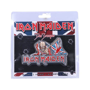 Iron Maiden The Trooper Fridge Magnet.