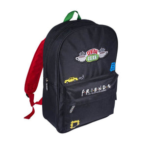 Friends Central Perk Premium Black Backpack
