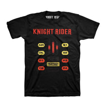 Load image into Gallery viewer, Men's Knight Rider Normal Cruise Black T-Shirt