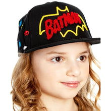 Load image into Gallery viewer, Children's DC Comics Batman Retro Logo Snapback Cap