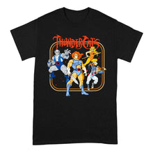 Load image into Gallery viewer, Men's Thundercats Framed Group Shot Black Crew Neck T-Shirt